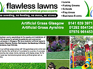 Flawless lawns Glasgow